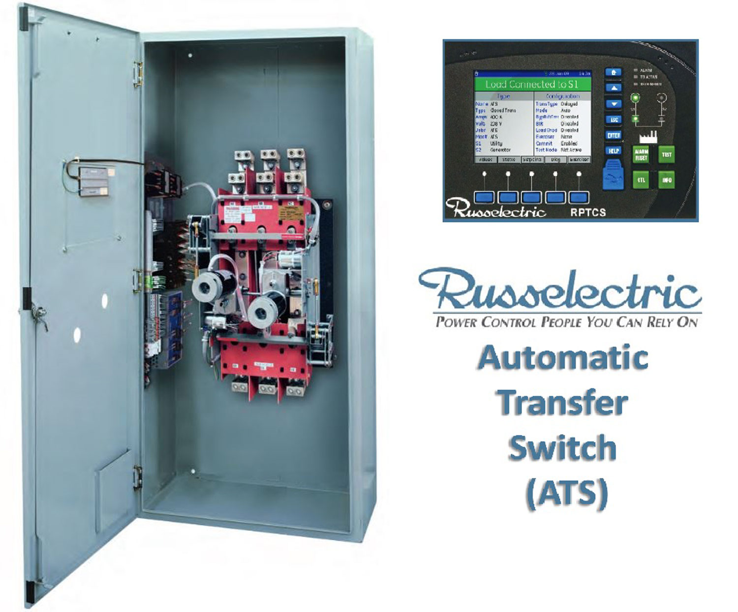 Russelectric Automatic Transfer Switch ATS